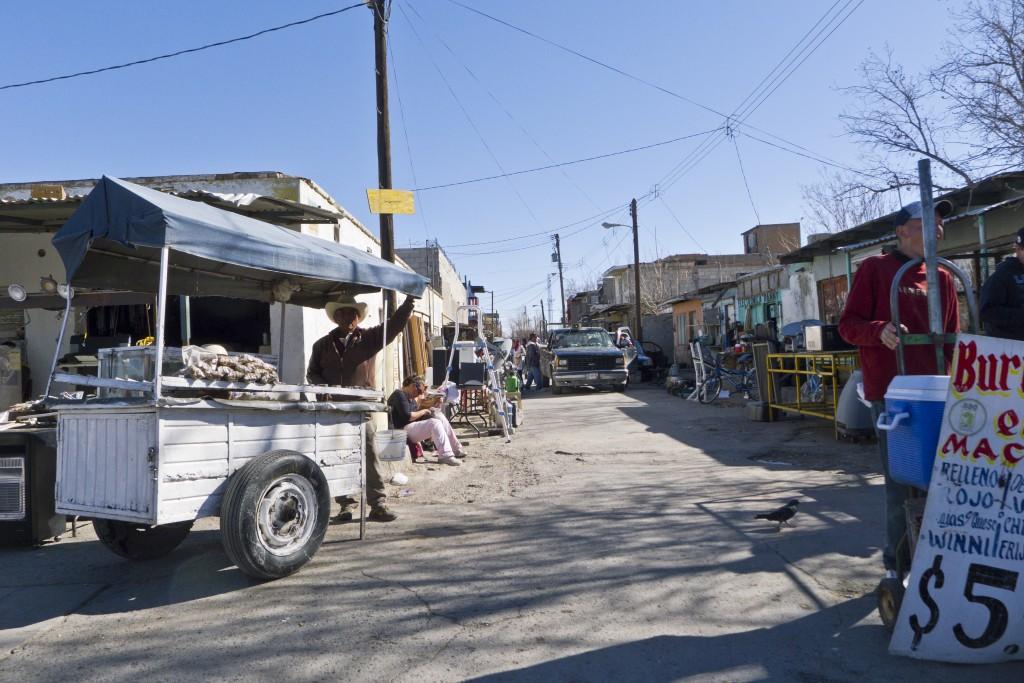 cerrajero street food