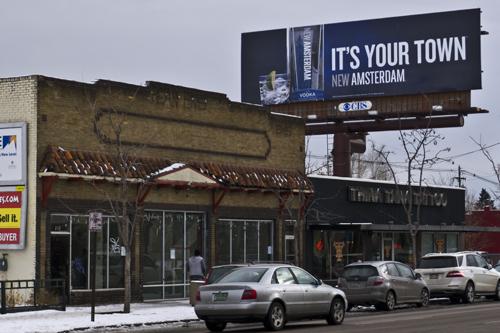 Billboard on Broadway in Denver