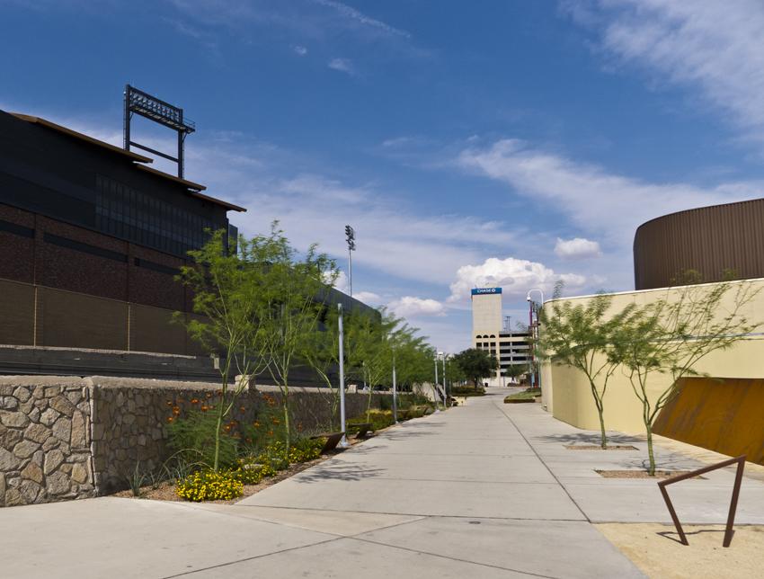 union plaza walkway